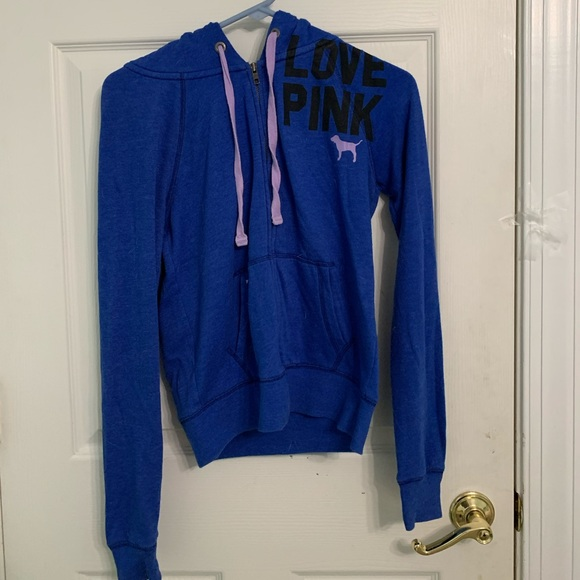 COPY - Blue zip up from Pink
